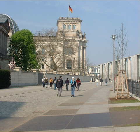 Le Reichstag en 2004 (photo N. Rau)